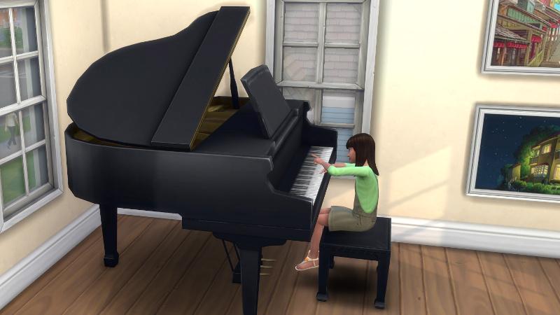 Rachel playing piano