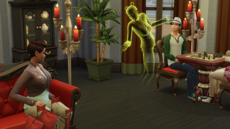 Stacey and the ghost chat