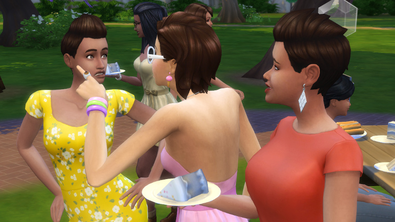 Rachel wags her hips, Liberty Lee tells her off, and Stacey grimaces