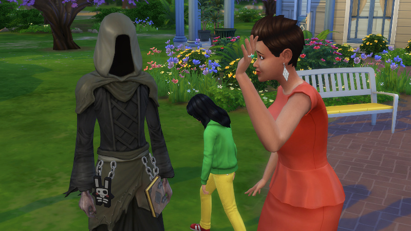 Stacey waves at the Grim Reaper