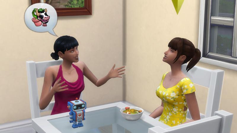 Zoe tells Rachel about cowplants