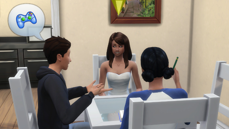 Kason Lee tells Claire and Zoe about video games