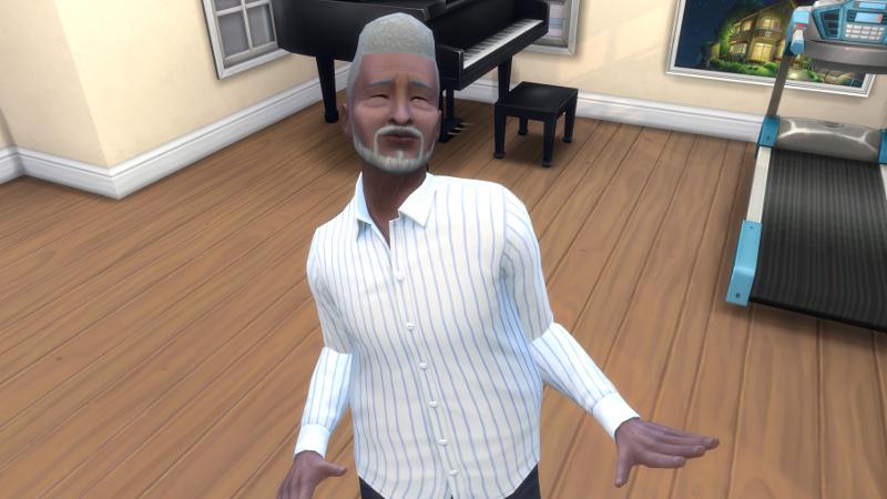 Melvin dances