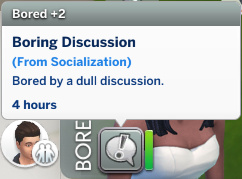 Christina has a Bored moodlet: Boring Discussion