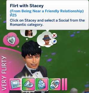 Julian has a whim to Flirt with Stacey