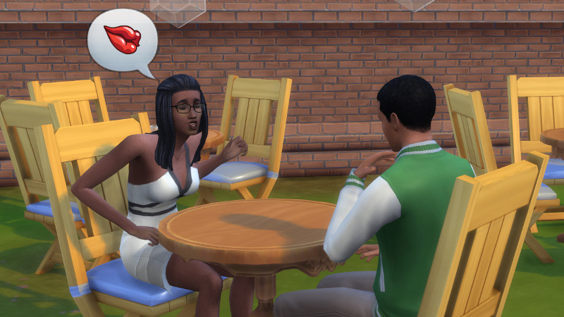 Christina flirts with Amir