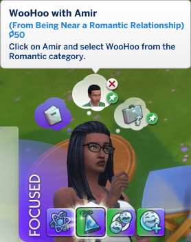 Christina has a whim to WooHoo with Amir