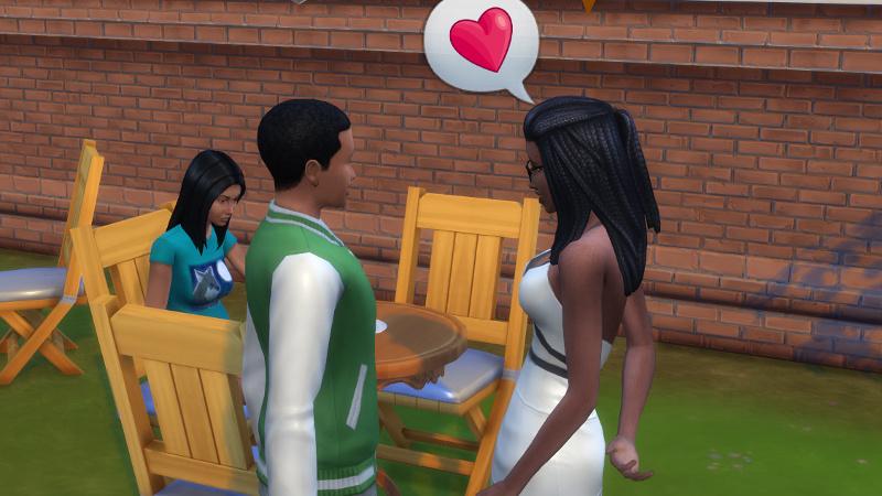 Christina tells Amir about lovehearts