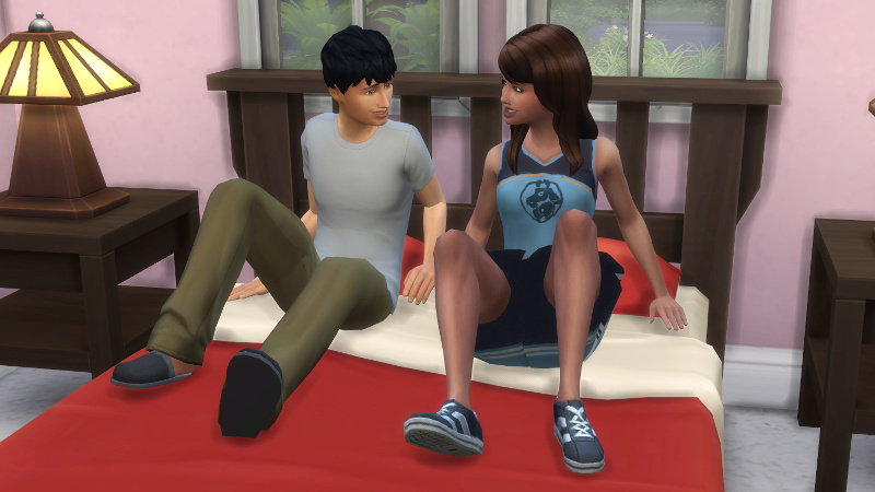 Claire and Julian jump into Stacey and Melvin's bed