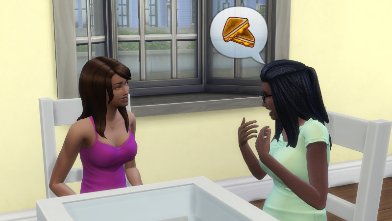 Christina tells Claire about grilled cheese