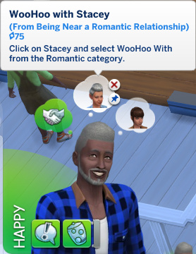 Melvin has a whim to WooHoo with Stacey