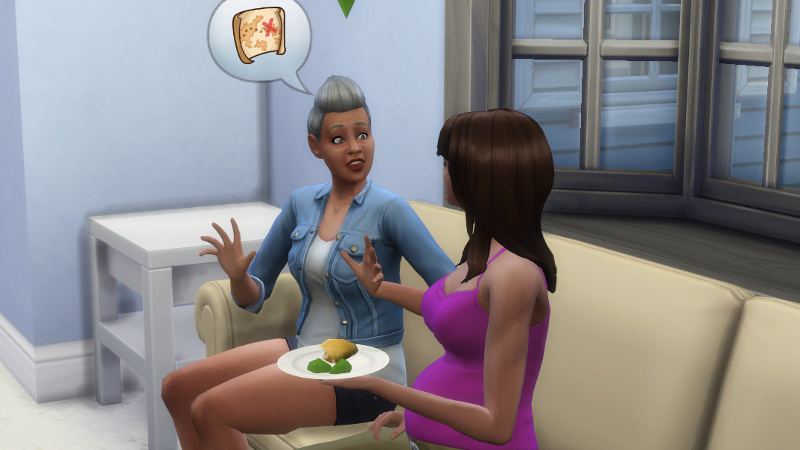 Stacey tells Claire about buried treasure