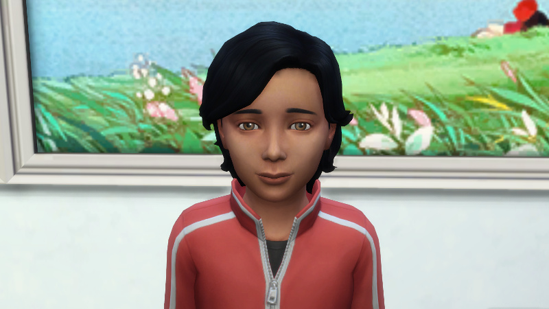Abed as a child