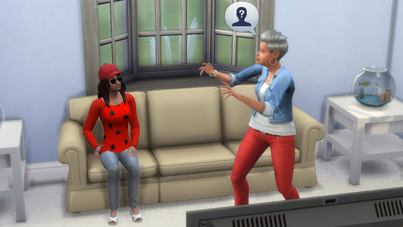 Stacey tells Claire about a mystery person