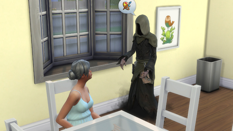 the Grim Reaper tells Stacey about art