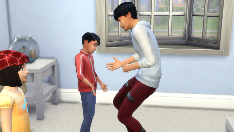 Julian consoles Abed