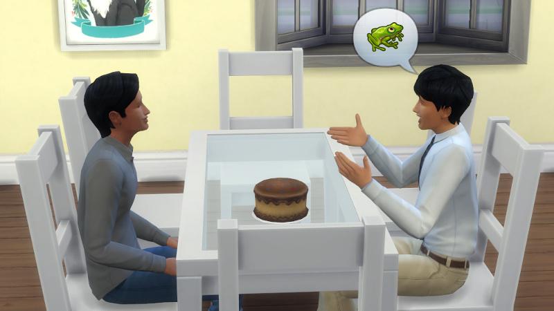 Julian tells Troy about frogs