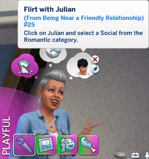 Stacey has a whim to flirt with Julian