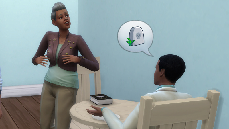 Amir tells Stacey about death