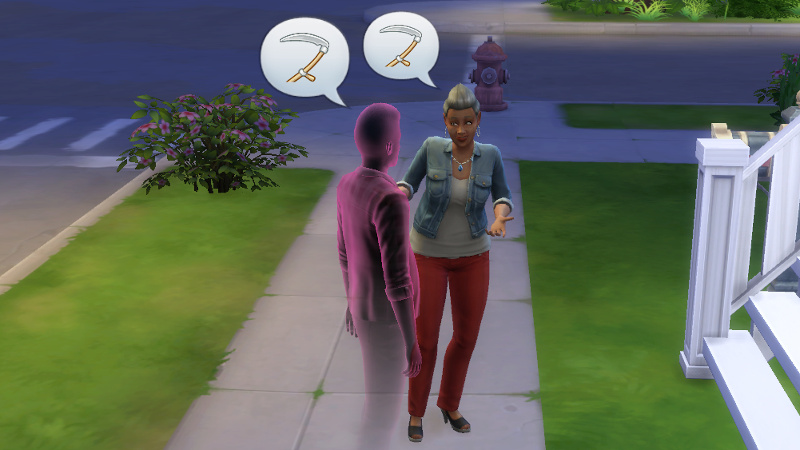 Stacey and Melvin's ghost talk about being reaped