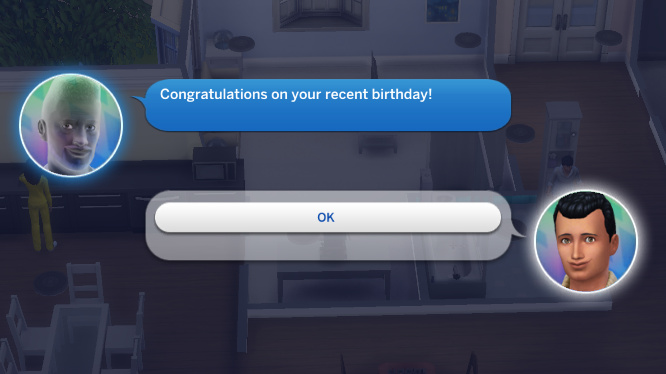 Melvin's ghost texts Abed: Congratulations on your recent birthday!
