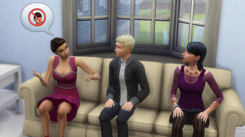 Britta tells Ulrike and Wolfgang about how bad Max is