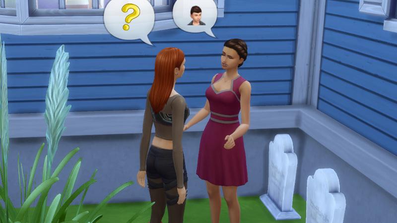 Britta asks Morgan about Max Villareal, who responds '?'