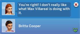Morgan: You're right! I don't really like what Max Villareal is doing with it.