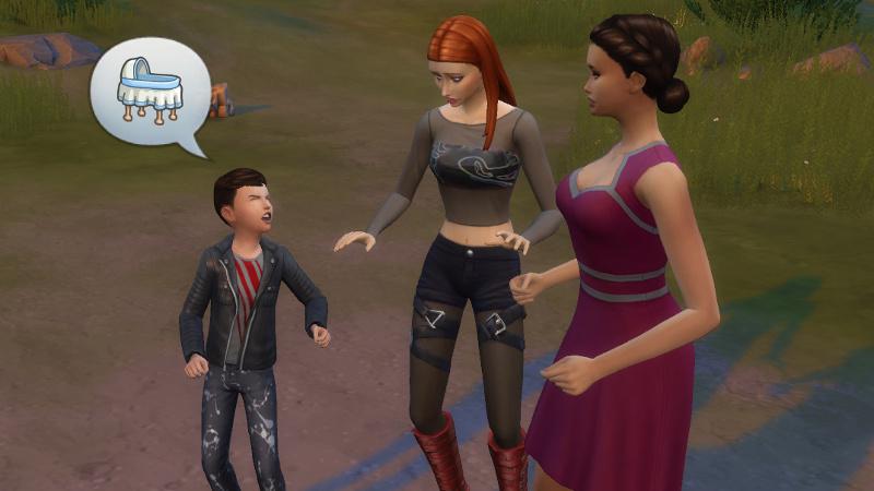 Max yells at Britta about babies