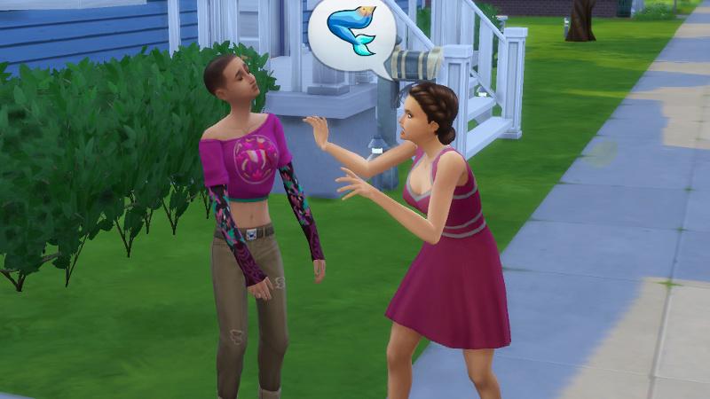 Britta tells Shirley about mermaids